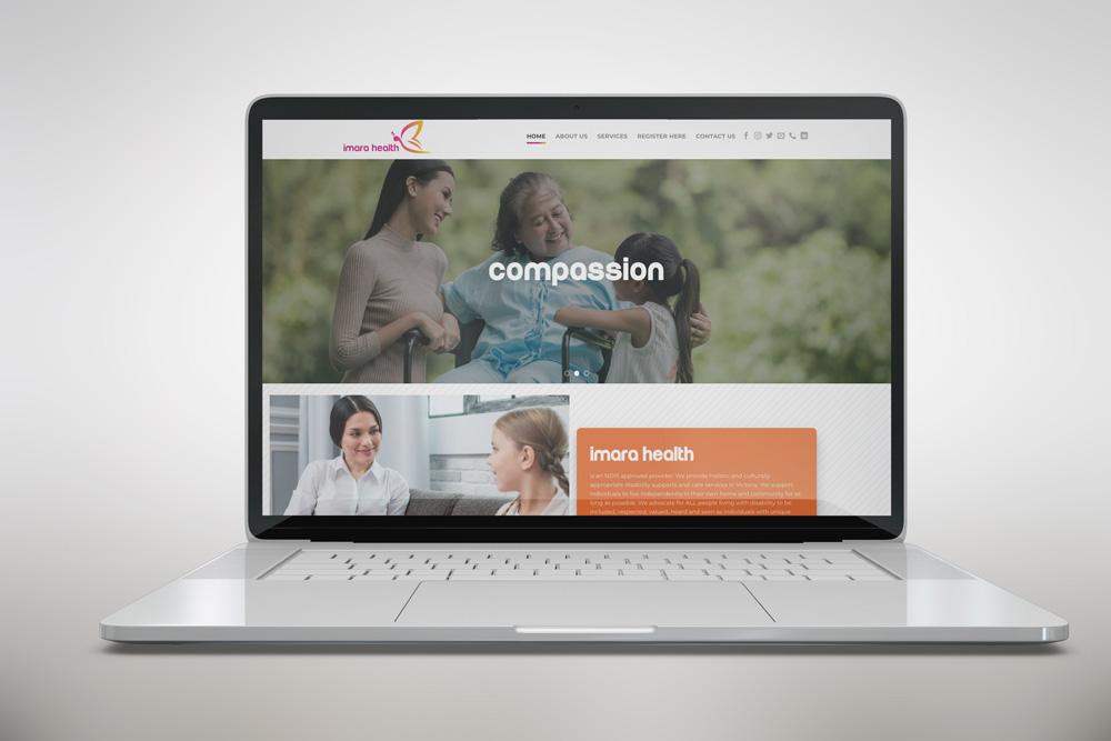 Imara Health NDIS Website main image